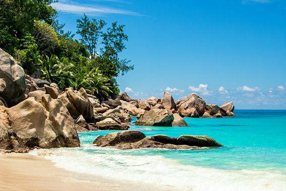 Droomstrand Anse Georgette - Praslin - Seychellen