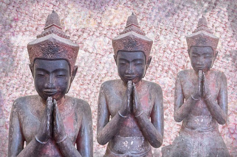 Meditatie. Devotie in drievoud, Cambodja van Rietje Bulthuis
