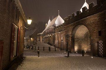 Koppelpoort in een winternacht von Gertjan Hesselink