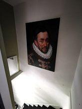 Kundenfoto: Wilhelm I. Prinz von Oranien, Adriaen Thomasz  Schlüssel, auf leinwand