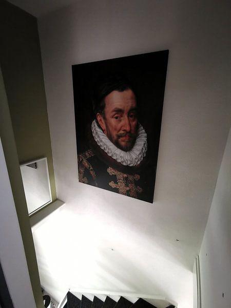 Kundenfoto: Wilhelm I. Prinz von Oranien, Adriaen Thomasz  Schlüssel