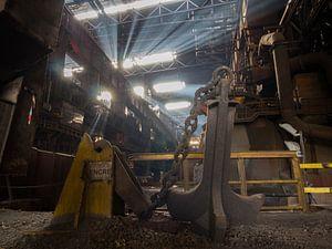 Urbex Industrieel anker / Industrial Anchor / Encre von Lisette Van den Bos