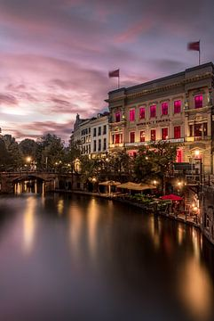 Oudegracht Utrecht von Mike Huberts