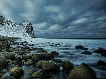 Unstad strand von Henk Goossens