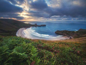 Asturië Playa de Torimbia van Jean Claude Castor