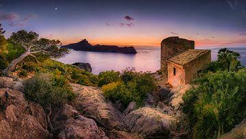Kustlandschap in het zuiden van Mallorca van Fine Art Fotografie