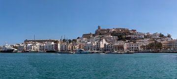 Hafen Ibiza Stadt von Alexander Wolff