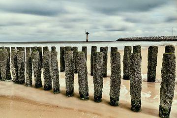 Cadzand Nordsee von Rob van Soest