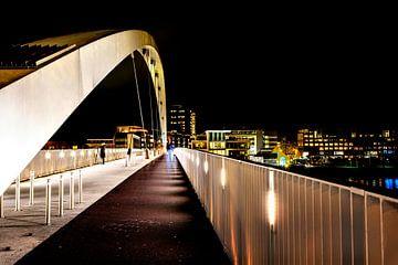 Hohe Brücke Maastricht Abend von Anita Martin