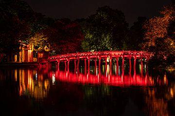 De Den Ngoc Zoon Tempel van Hanoi van Roland Brack