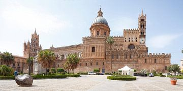 Normandische Kathedraal, Kathedraal van Palermo, Cattedrale Maria Santissima Assunta, Palermo, Sicil van Torsten Krüger