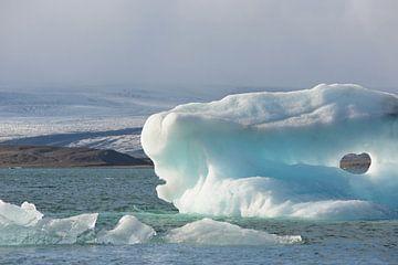 Jokulsarlon - IJsland van Barbara Brolsma