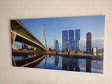 Kundenfoto: Erasmusbrug in Rotterdam von Michel van Kooten, auf alu-dibond