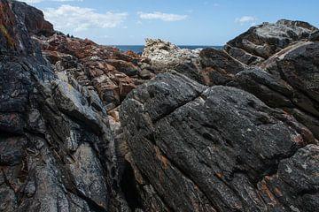 Hoog op de rotsen von Guus Quaedvlieg