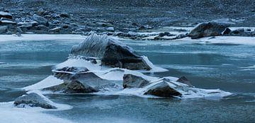 Bevroren water van