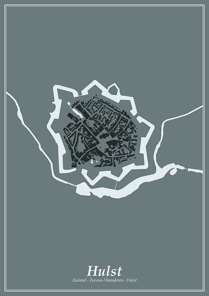 Festungsstadt - Stechpalme von Dennis Morshuis