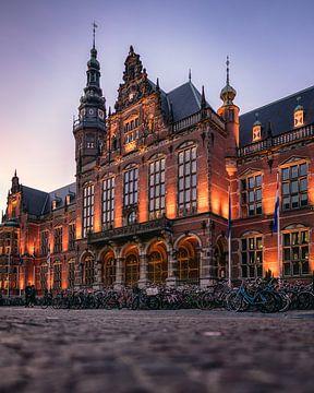 Akademiegebäude der Universität Groningen von Harmen van der Vaart