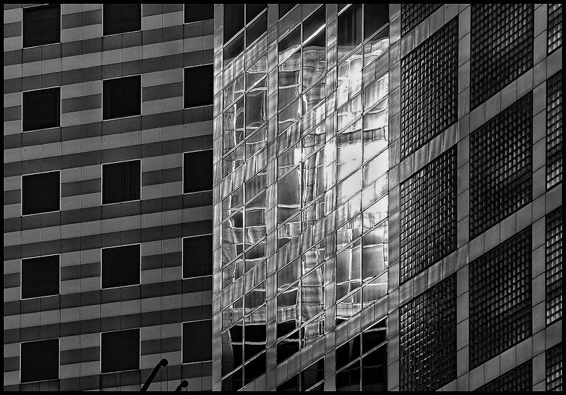 Mondriaan in zwart en wit van Margaretha Gerritsen