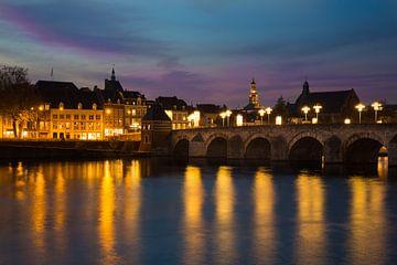 Maastricht in het avond licht!  van Yvette Baur