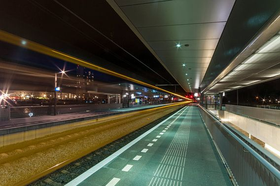 Station Groningen Europapark van David Pronk