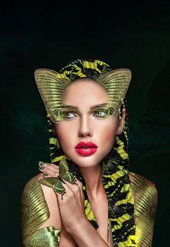 Ägyptische Göttin von OEVER.ART