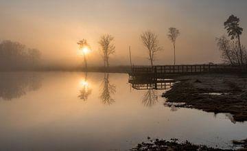 Kalter Dezembermorgen. von Marianne van der Westen