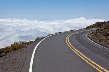 Weg naar de Haleakalā Krater (Maui / Hawaii) van t.ART