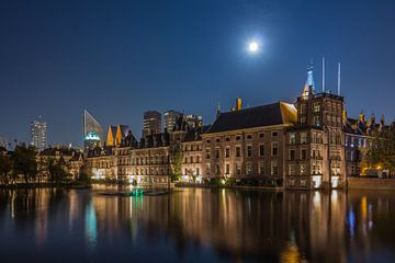 Hofvijver / Binnenhof / La Haye sur Patrick Löbler