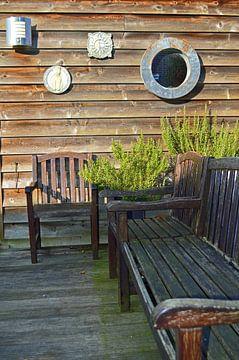 Lekker zonnig plekje in de tuin van Ronald H