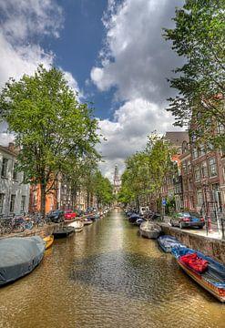 Amsterdamse gracht van Jan Kranendonk