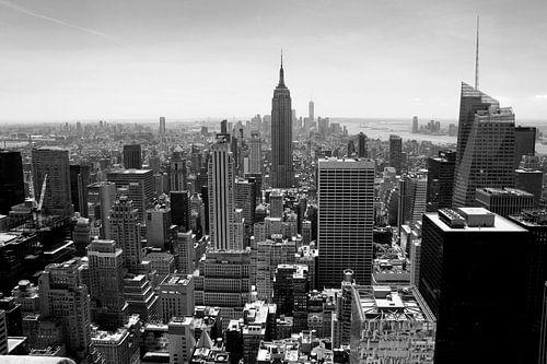 New York City Skyline van Marga Verweijen