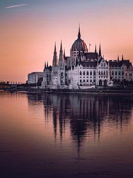 Parlement van Boedapest van Iman Azizi