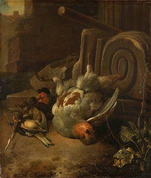 Dode vogels, Melchior d'Hondecoeter van