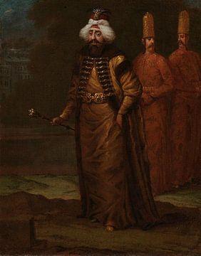 Sultan Ahmed III., Jean Baptiste Vanmour, ca. 1727 - ca. 1730
