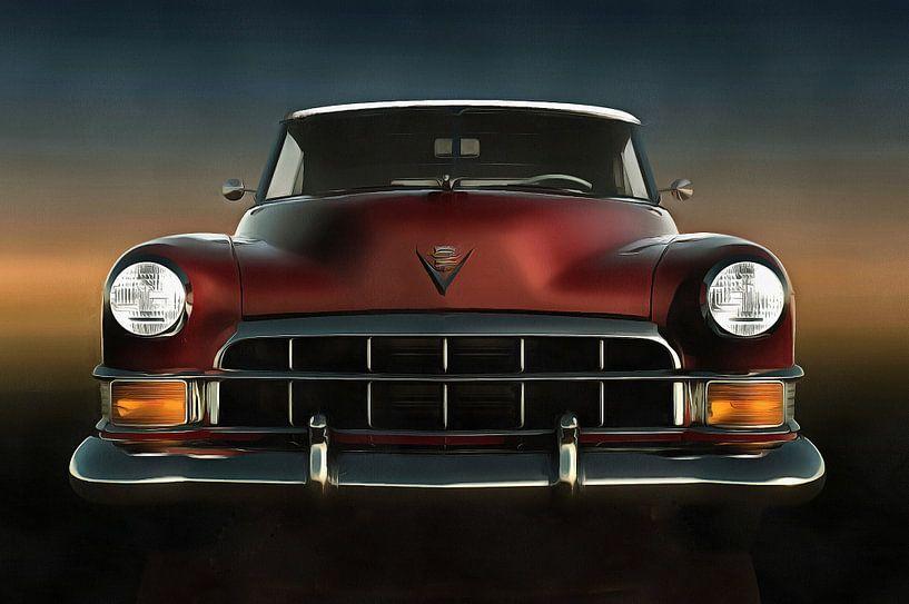 Klassieke auto –Old-timer Cadillac van Jan Keteleer
