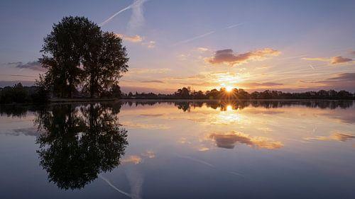 Zonsopkomst in Noord Holland van