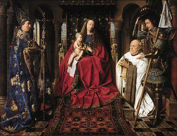 Jan Van Eyck - Anbetung von Maria