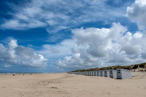 Strandhuisjes Texel  von Guus Quaedvlieg