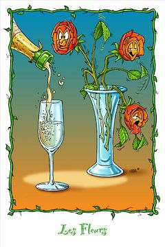 Thirsty Roses van Stan Groenland