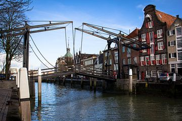 De ophaalbrug van Dordrecht van Petra Brouwer