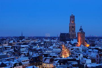 Die Stadt Utrecht im Winter von Donker Utrecht