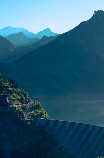 Lac de Roselend 6 van Desh amer