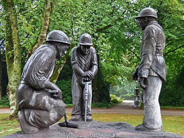 Bergmannsdenkmal van Edgar Schermaul