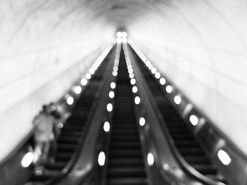 D.C. Metro roltrap von Charlotte Meindersma