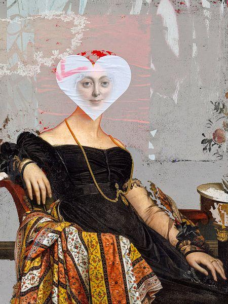 Madame Jacque and the white heart von Gabi Hampe