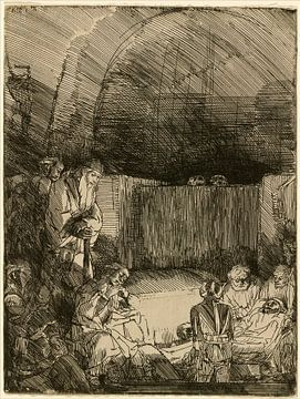 Rembrandt van Rijn, La Mise au tombeau sur