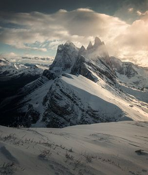 Dies ist der Berg Seceda in Südtirol, Italien. von Niels Tichelaar