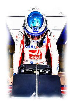 Mick Schumacher en Haas Formule Een van DeVerviers