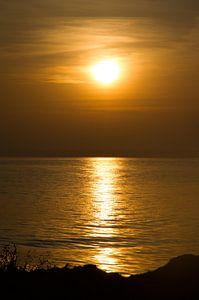 Zon en de zee van