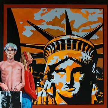 Andy Warhol Painting van Paul Meijering